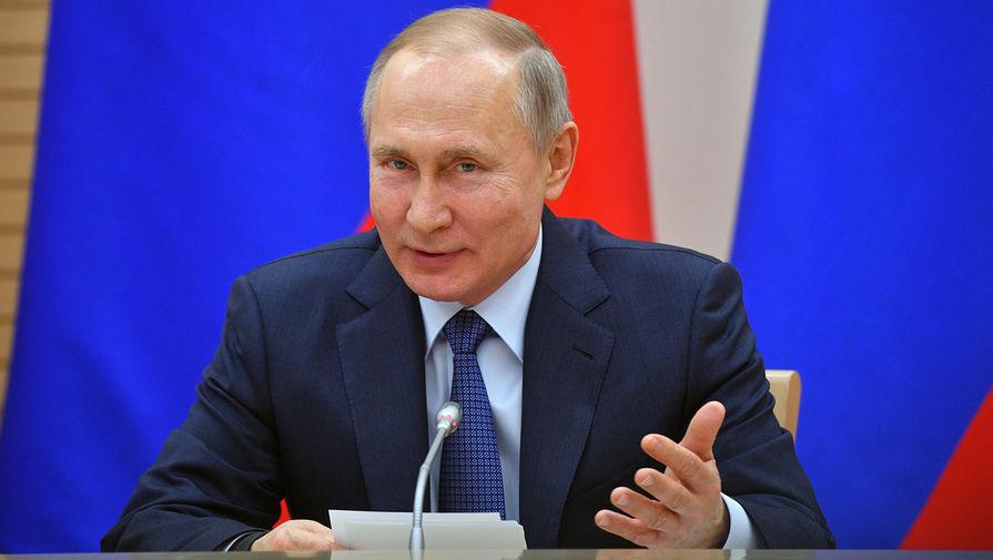 Анонсировано заседание рабочей группы по поправкам с участием Путина