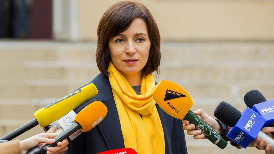 Санду ответила на вопрос о принадлежности Крыма