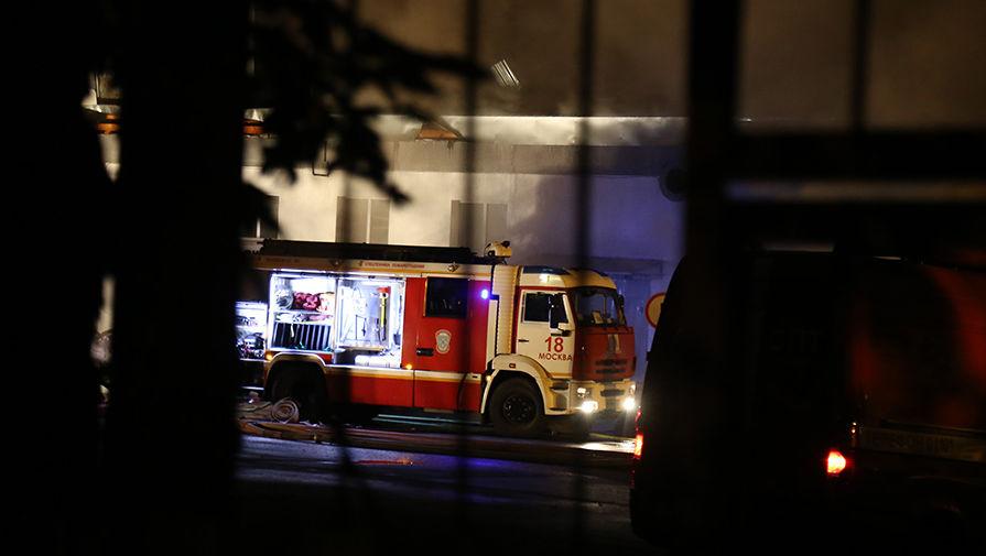 Названа предварительная причина пожара в больнице Татарстана