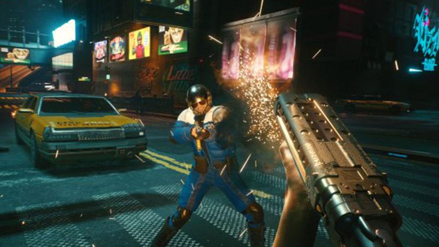 Самой продаваемой за 20 лет игрой в РФ стала Cyberpunk 2077