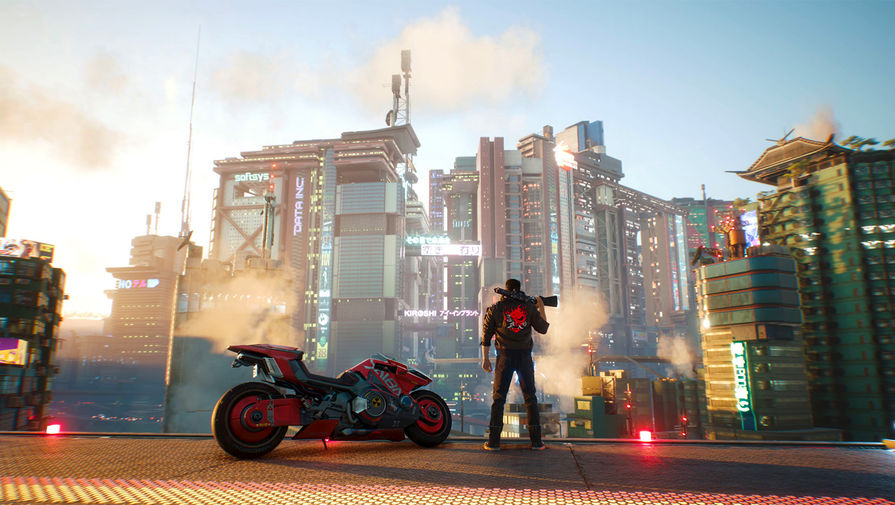 Cyberpunk 2077 названа самой красивой игрой 2020 года