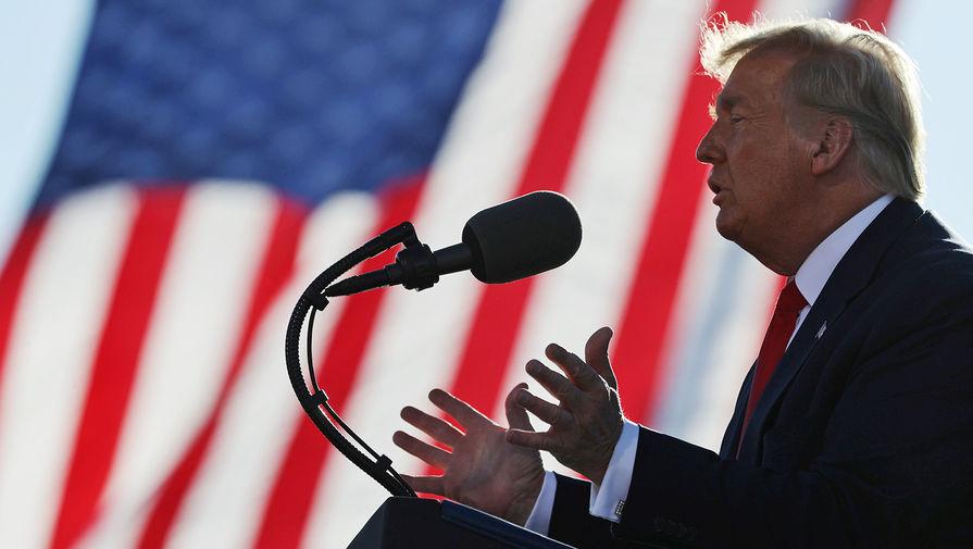 Трамп заявил, что крупные фармацевтические компании хотели его поражения на выборах