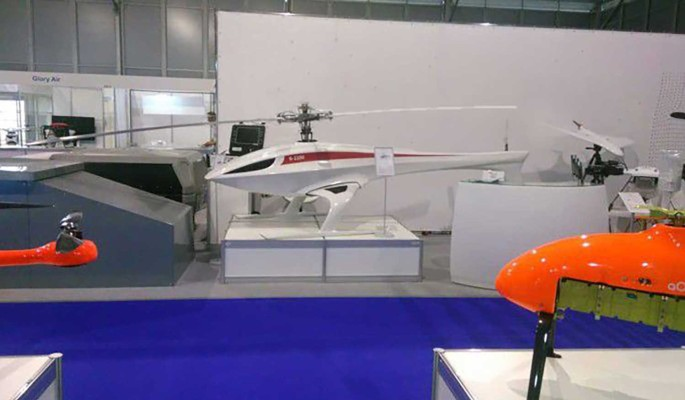 КБ 'Русь' представило многоцелевой беспилотный грузовой вертолет
