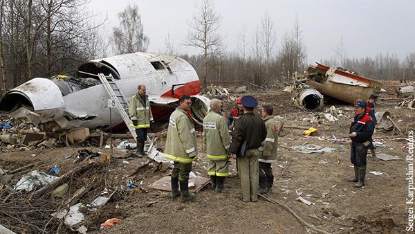 Захарова дала совет «по сути» в связи с расследование крушения самолета Качиньского
