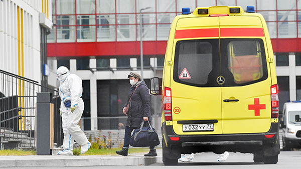 В России за сутки выявили 14,9 тыс. случаев коронавируса