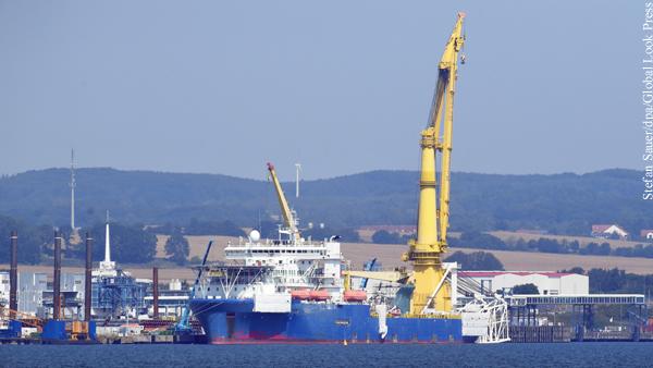 Судно для достройки «Северного потока – 2» направилось в Германию
