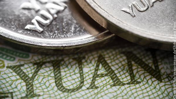 ЦБ Китая укрепил курс юаня к доллару