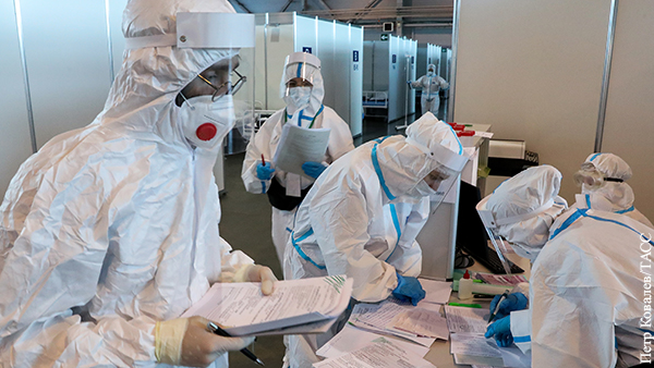В России выявили 12,5 тыс. новых случаев коронавируса