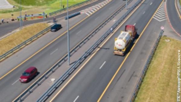 На трассе между Москвой и Петербургом повысили скоростной режим