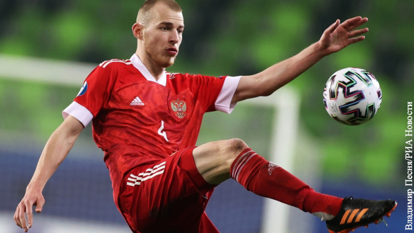 Сдавший сомнительный тест на коронавирус российский футболист пропустит Евро-2020