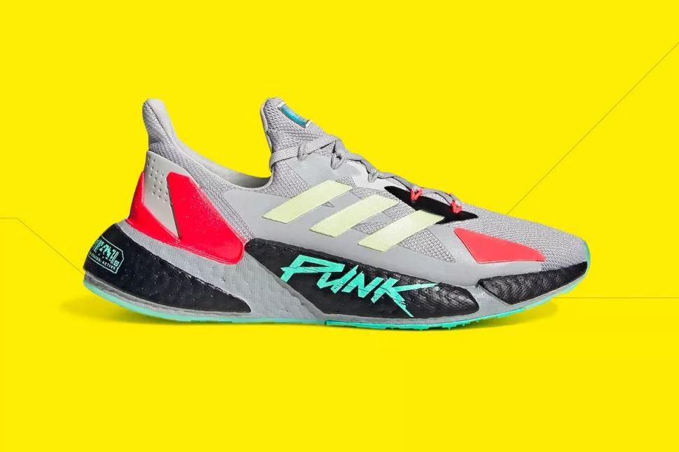 Adidas готовит серию Cyberpunk 2077 кроссовок