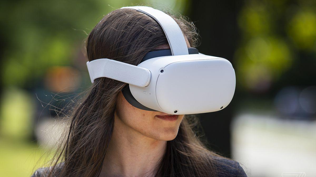 Facebook показала шлем виртуальной реальности Oculus Quest 2