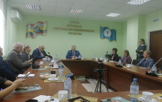 Вице-президент Курской ТПП встретился с журналистами