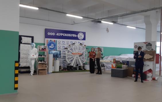 Для Дениса Мантурова организовали выставку курской промышленности