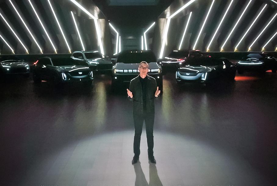 General Motors анонсировал четыре новых электромобиля