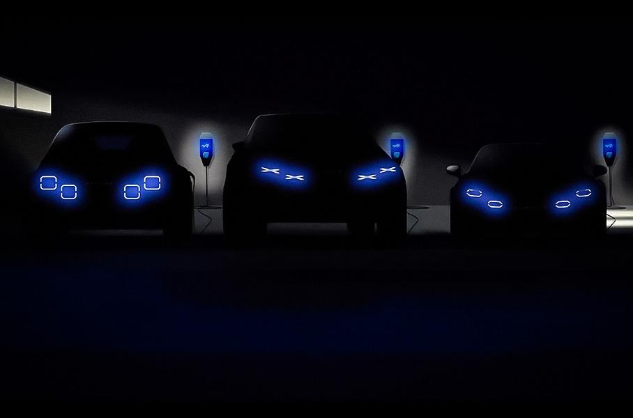 Alpine выпустит электрический спорткар совместно с Lotus