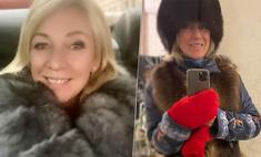 Рукавицы горят! Пользователей Сети смутило обилие меха в образе Марии Захаровой для «московских минус 10»