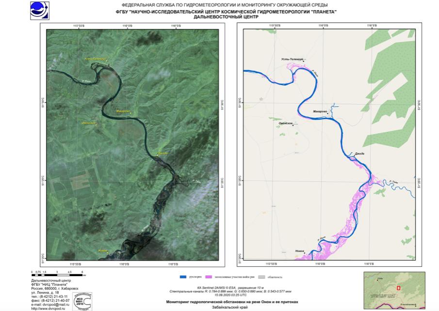 Новая волна паводка формируется в Забайкалье и Бурятии
