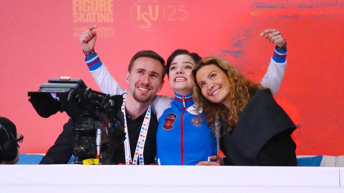«Это великий шаг двух прекрасных женщин». Тарасова – о воссоединении Тутберидзе и Медведевой