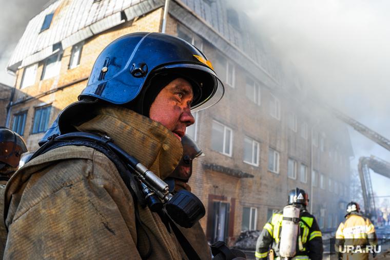 В Татарстане при пожаре в больнице погибли пациенты. ВИДЕО