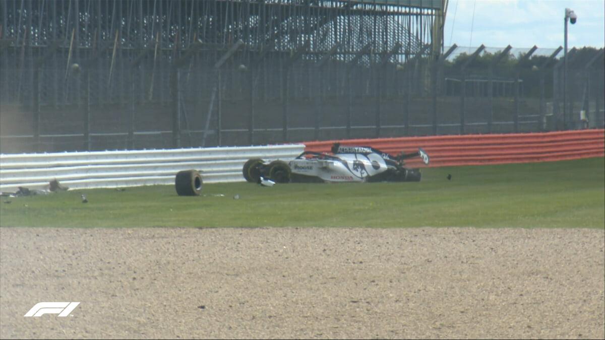 Квят разбил болид на Гран-при Великобритании