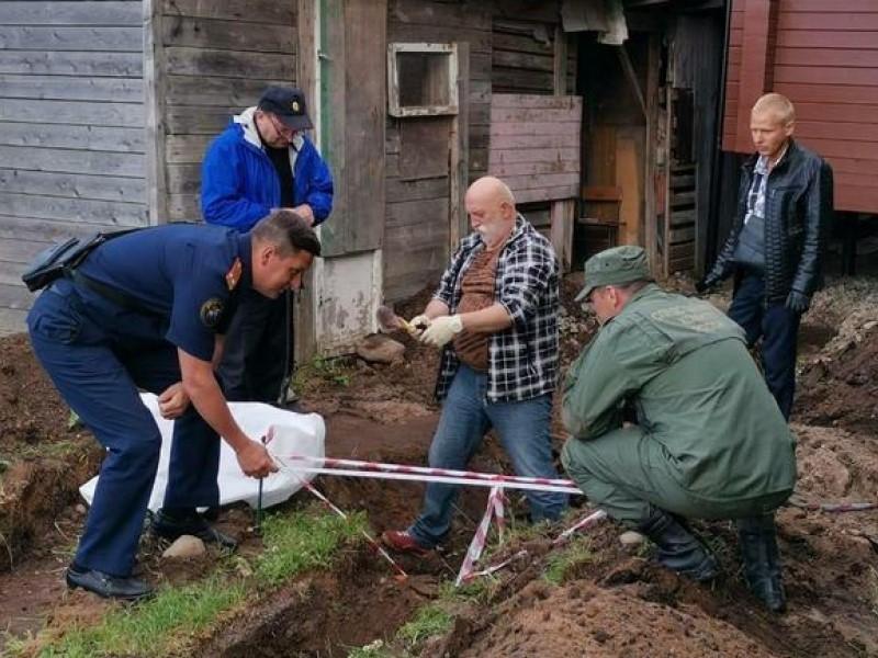 У храма под Петербургом нашли связанный скелет