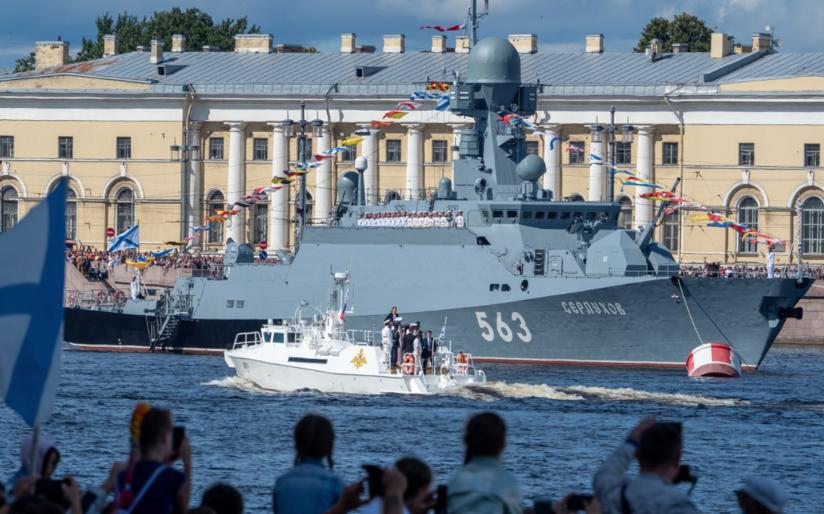 Петербург потратит на празднование Дня ВМФ до 27 миллионов рублей
