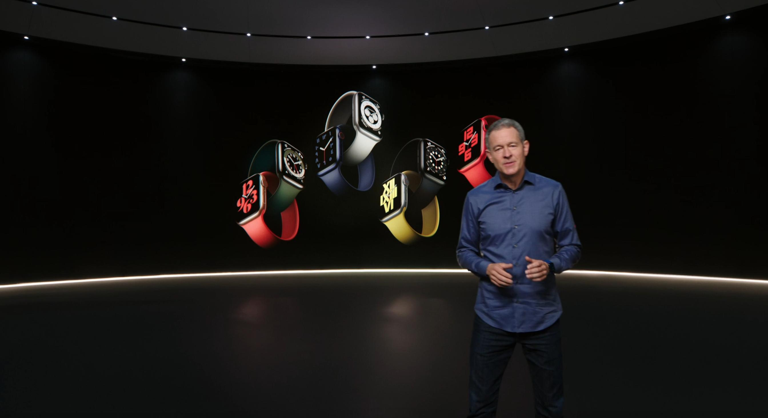 Представлены Apple Watch Series 6 и Watch SE